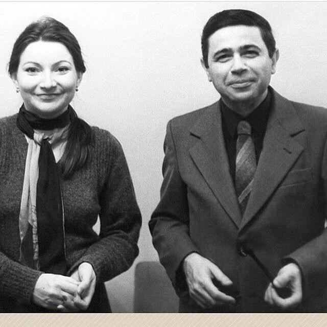 Елена Степаненко и Евгений Петросян в молодости