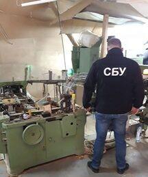В Черновцах накрыли подпольный цех по производству контрабандных сигарет