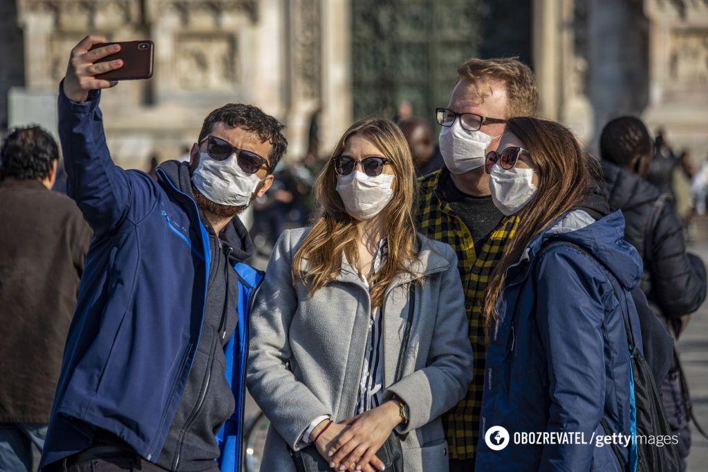 Вулиці Мілана під час спалаху коронавіруса на півночі Італії