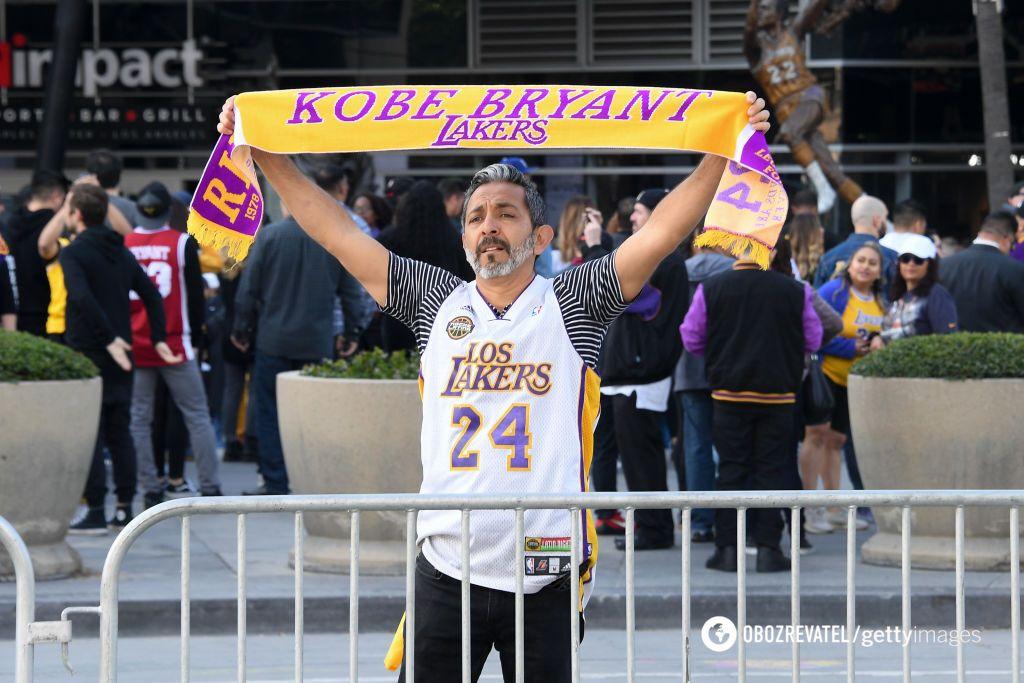Прощание с Коби Брайантом в Лос-Анджелесе