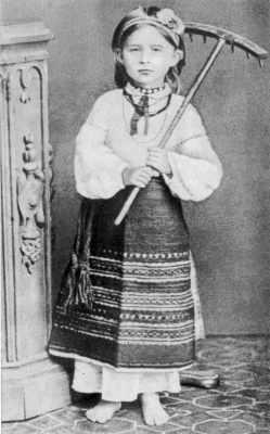 Леся Українка в дитинстві