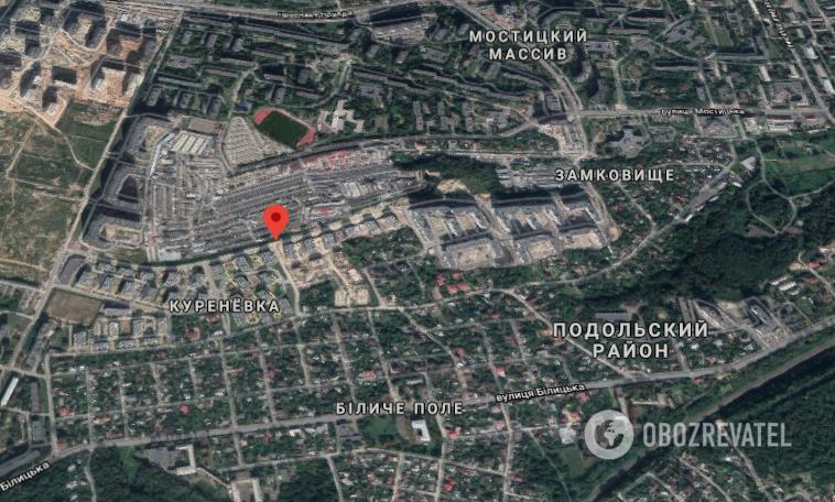 Трагедия произошла на ул. Сергея Данченко