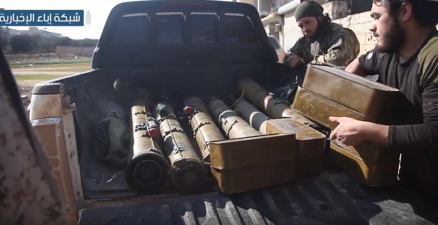 В Сирии показали трофеи после ликвидации наемников Путина