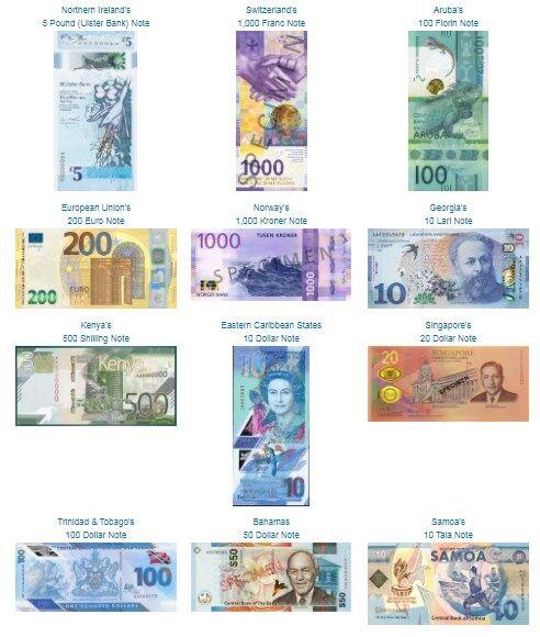 Все номинанты на банкноту года