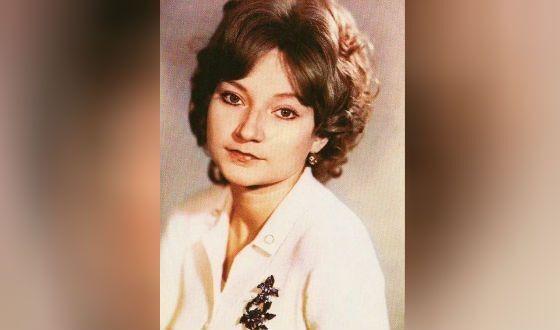 Елена Степаненко в молодости