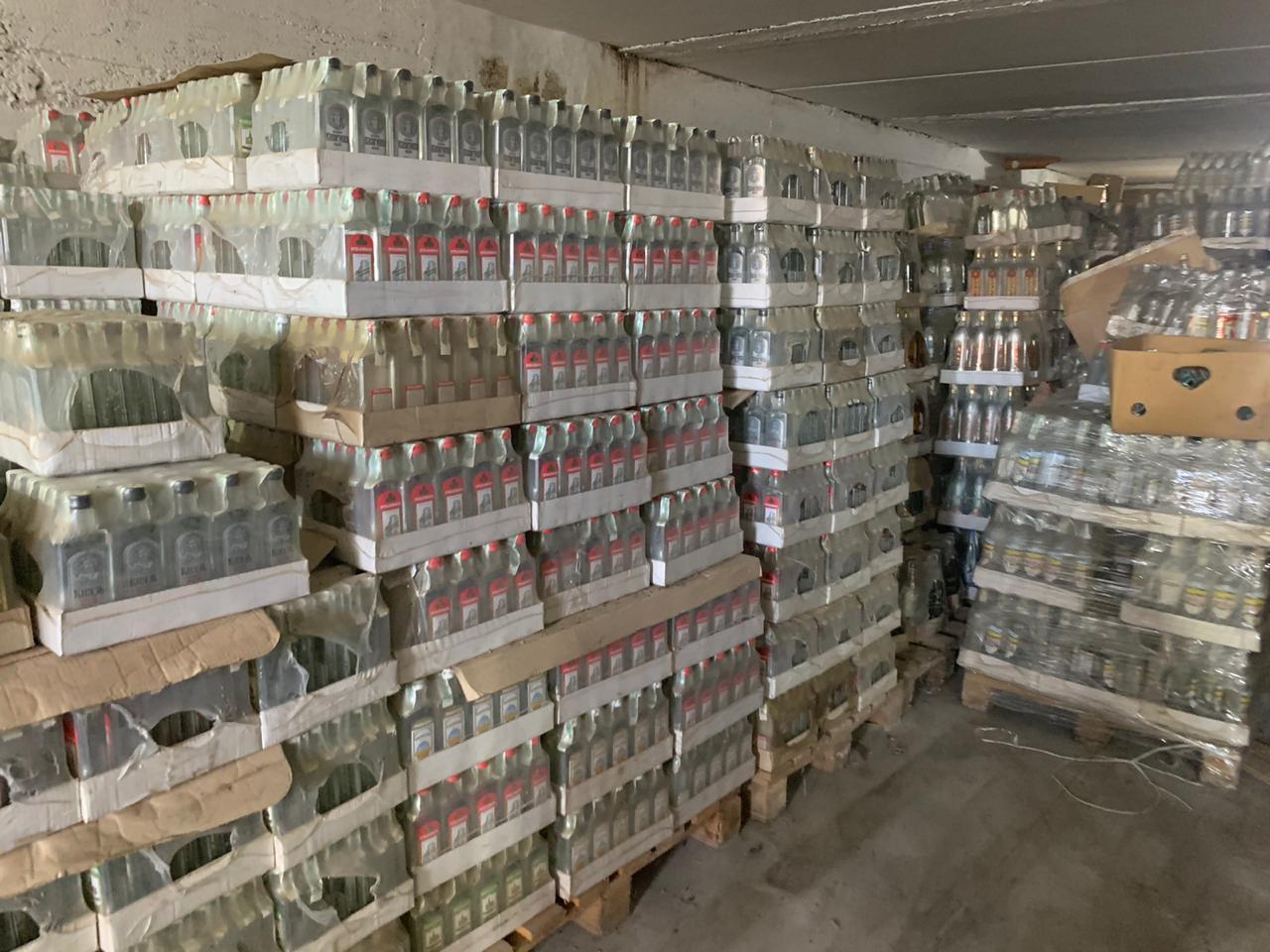 В Украине уничтожили партию водки