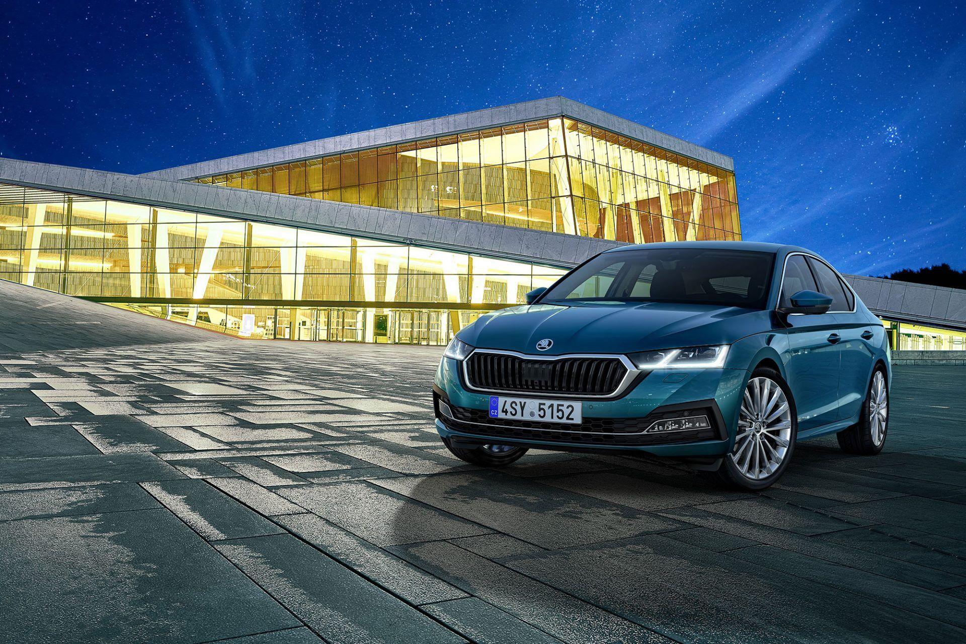 Skoda Octavia нового поколения дебютировала в прошлом году