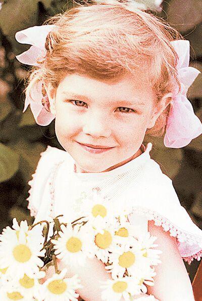 Наталія Водянова в дитинстві