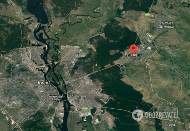 Смертельная авария в Броварах Киевской области
