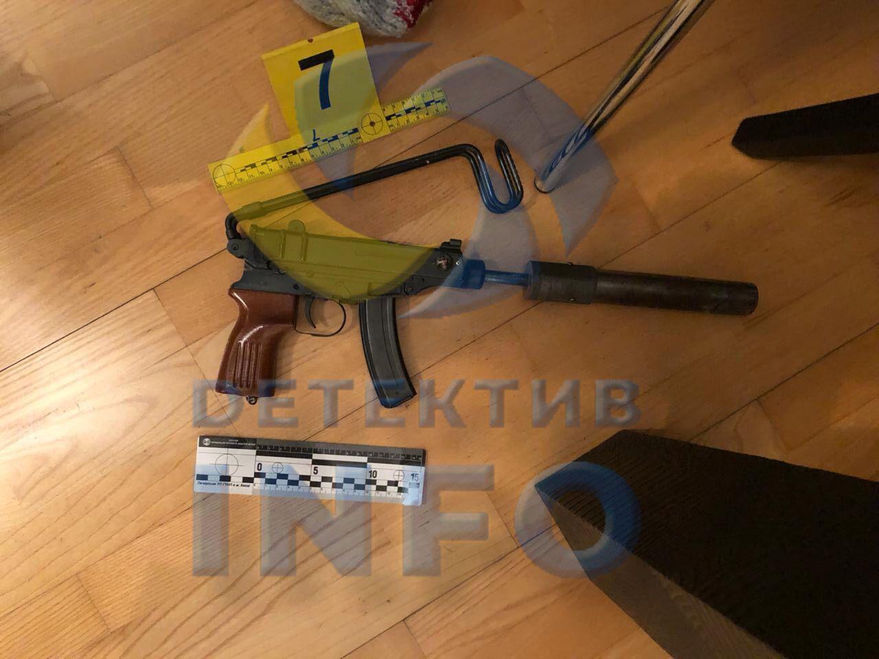 Оружие, из которого якобы застрелился бизнесмен-уголовник