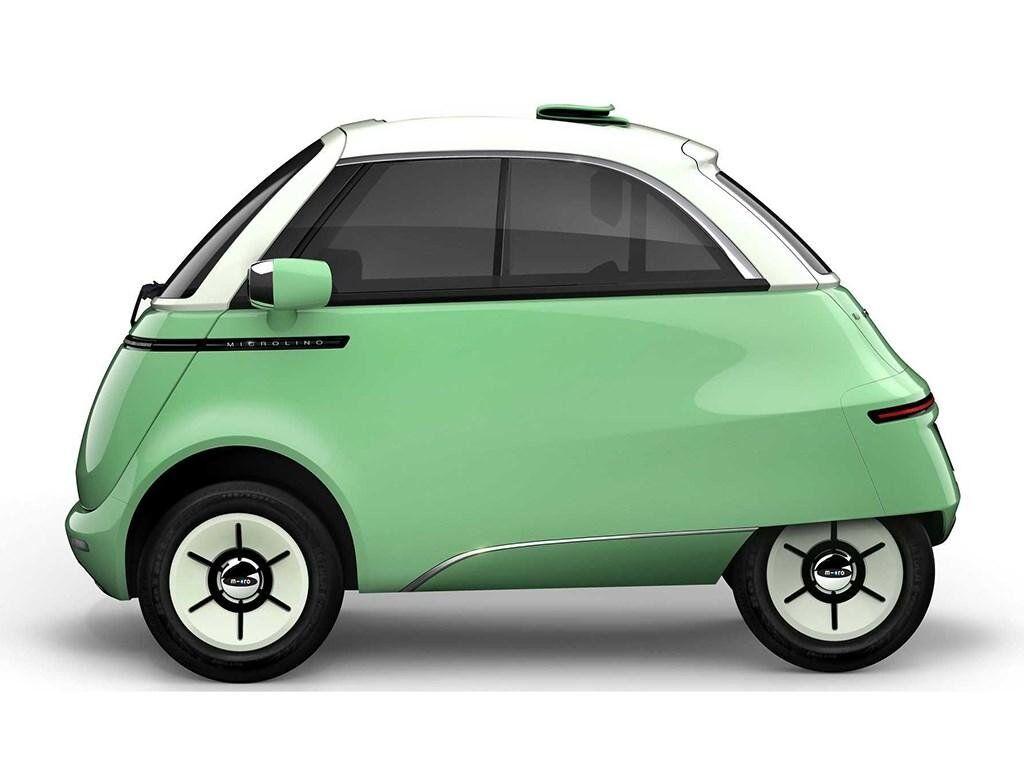 Электромобиль Microlino 2.0 характеризуется знакомым классическим силуэтом