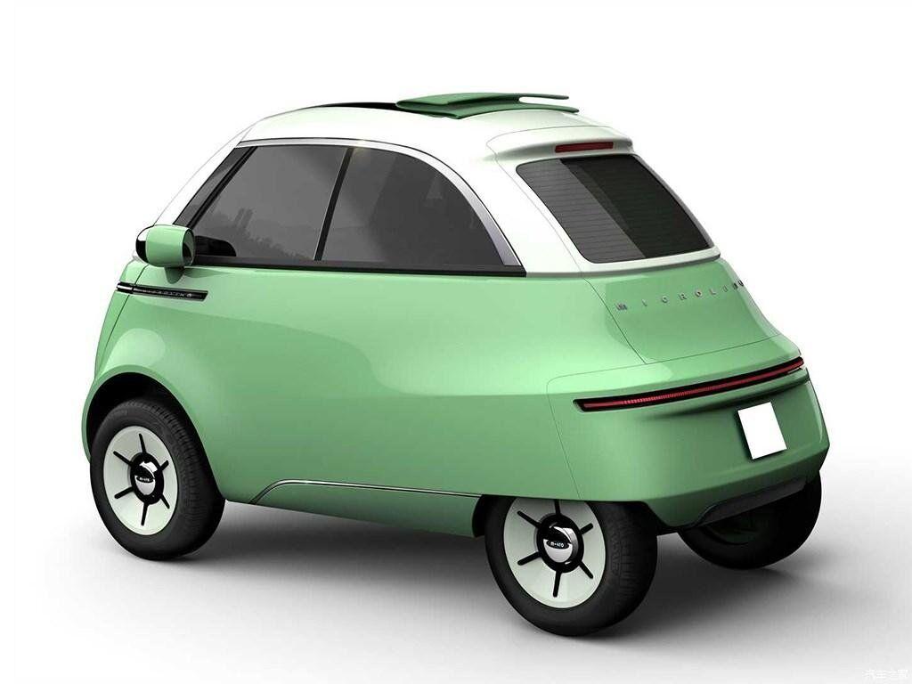 У Microlino 2.0 даже есть небольшой багажник