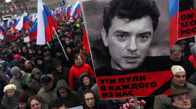 Борис Нємцов був убитий 27 лютого 2015 року двома пострілами в спину