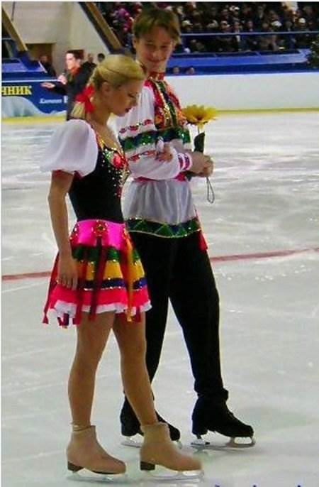 Анна Семенович у молодості була відома як талановита фігуристка