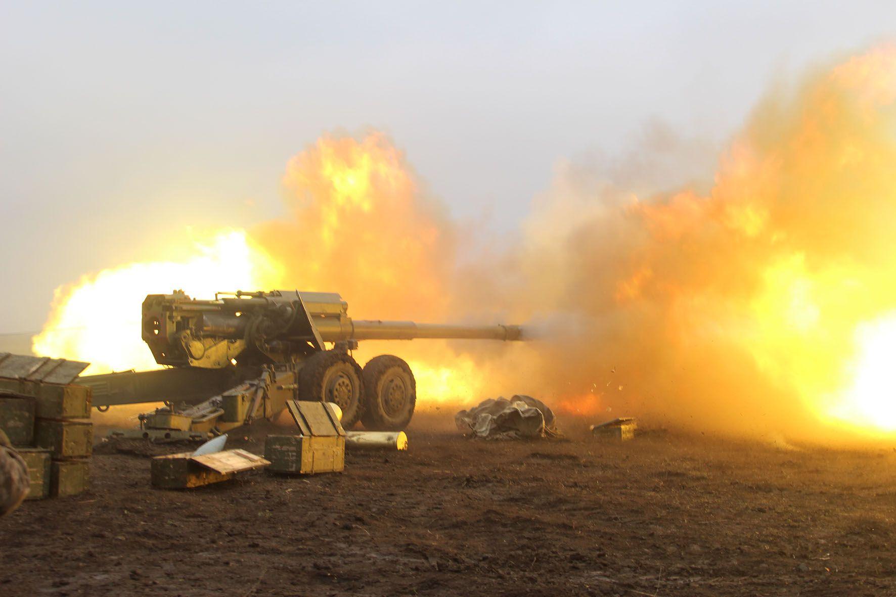 Боєць ООС заявив, що силовий сценарій на Донбасі зараз неможливий