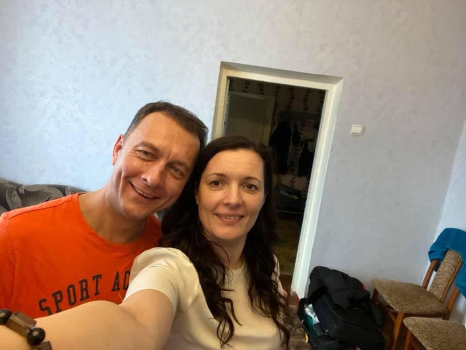 Зоряна Скалецкая в обсервации с прибывшими из Уханя украинцами