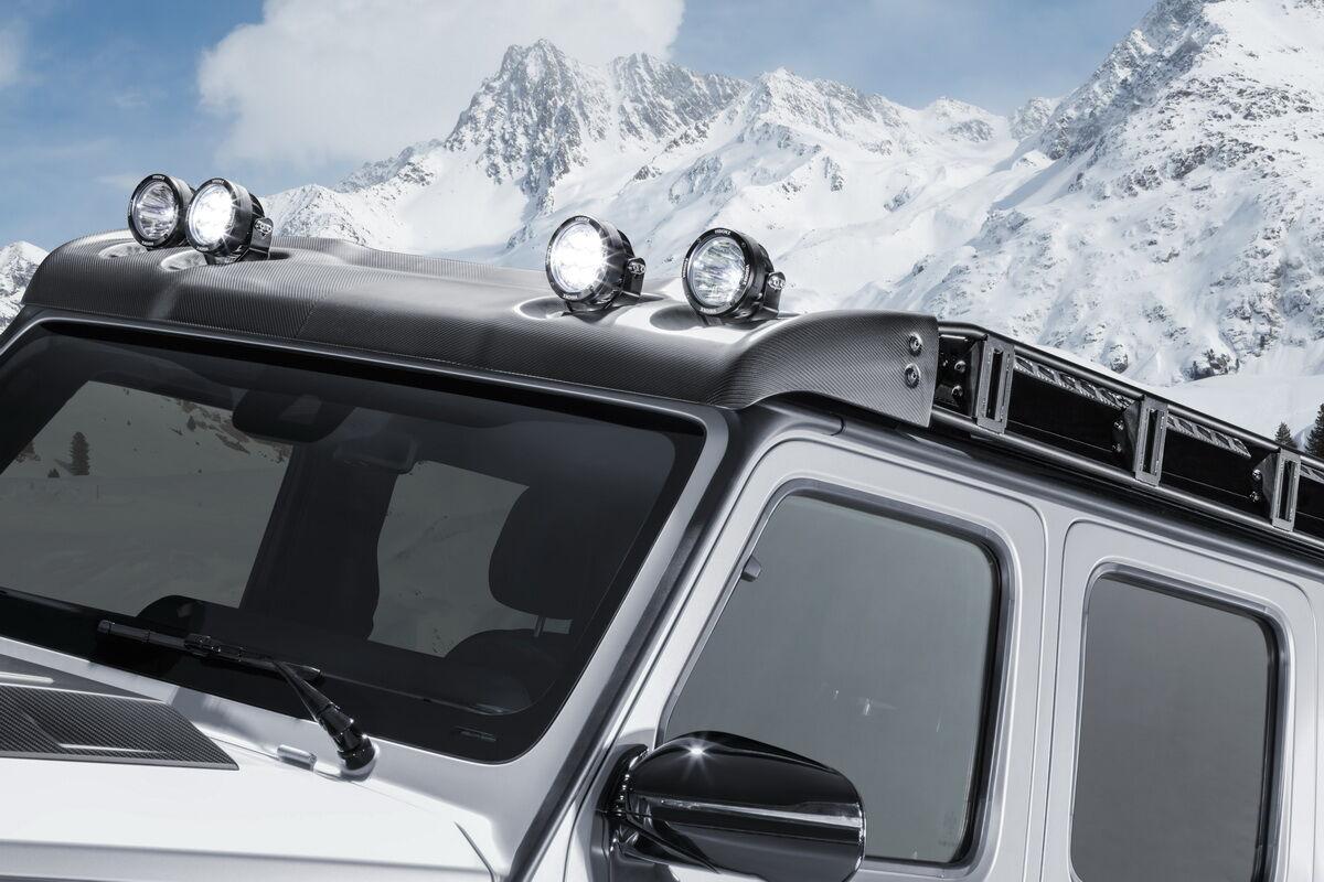 Выставочный Brabus 800 Adventure XLP имеет ряд дополнительных опций