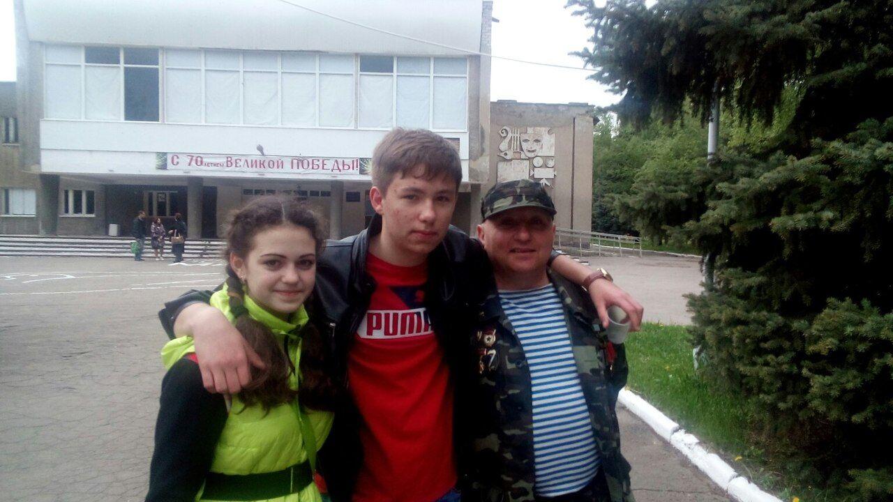 Харченко с семьей живет в Донецке