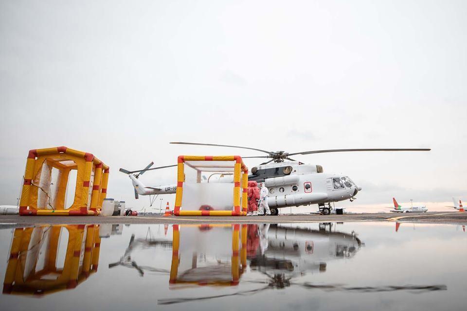 Санітарний вертоліт Мі-8