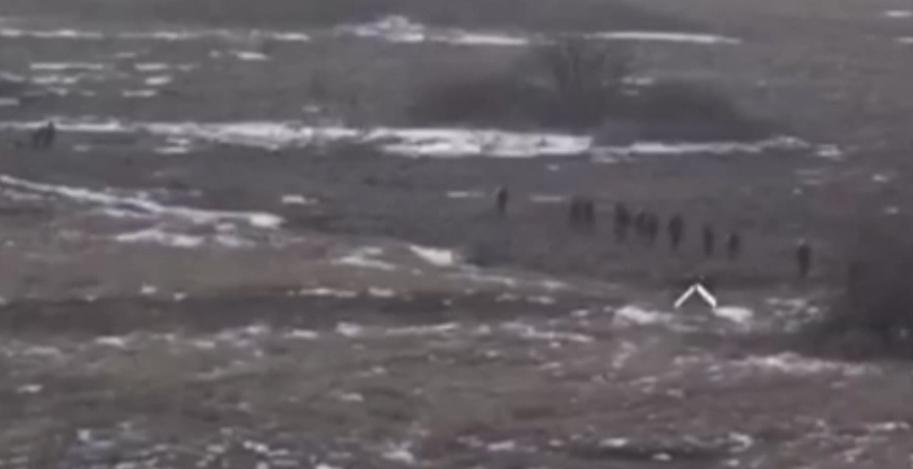 Атака войск Путина на ВСУ под Золотым