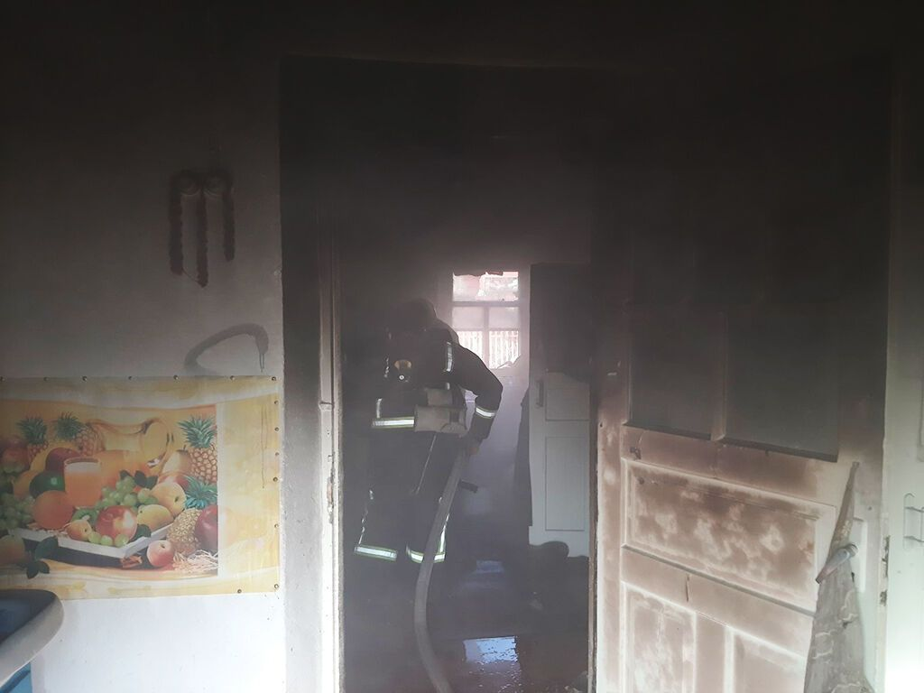 Пожар в Покрове