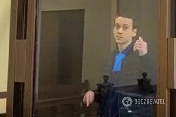 Обвиняемый Владислав Гарькавый