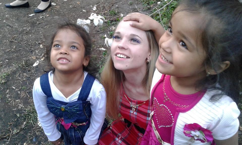 Марина Сулиман с Аишей и старшей дочкой до трагического случая