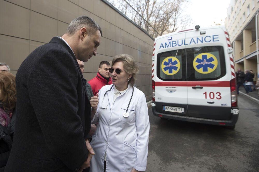 Больницы Киева готовы к госпитализации людей с подозрением на коронавирус – Кличко