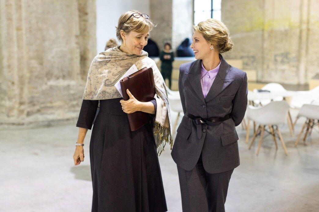 Олена Зеленська на зустрічі з Анкою Фельдгузен