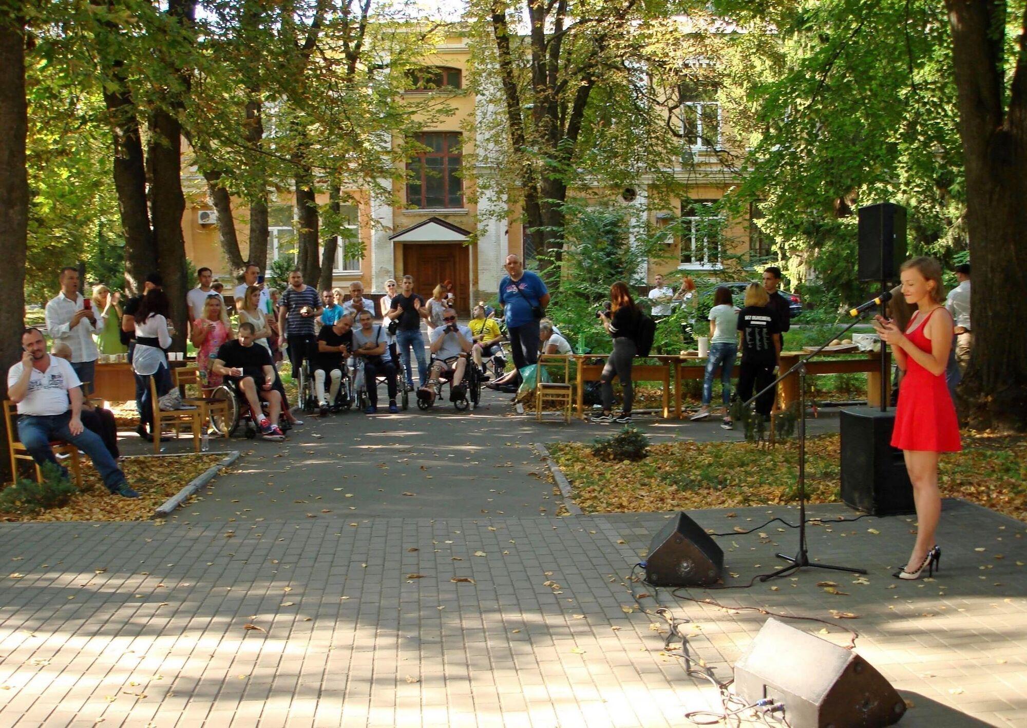У день пам'яті Іловайської трагедії в Центральному військовому госпіталі, 2019 рік