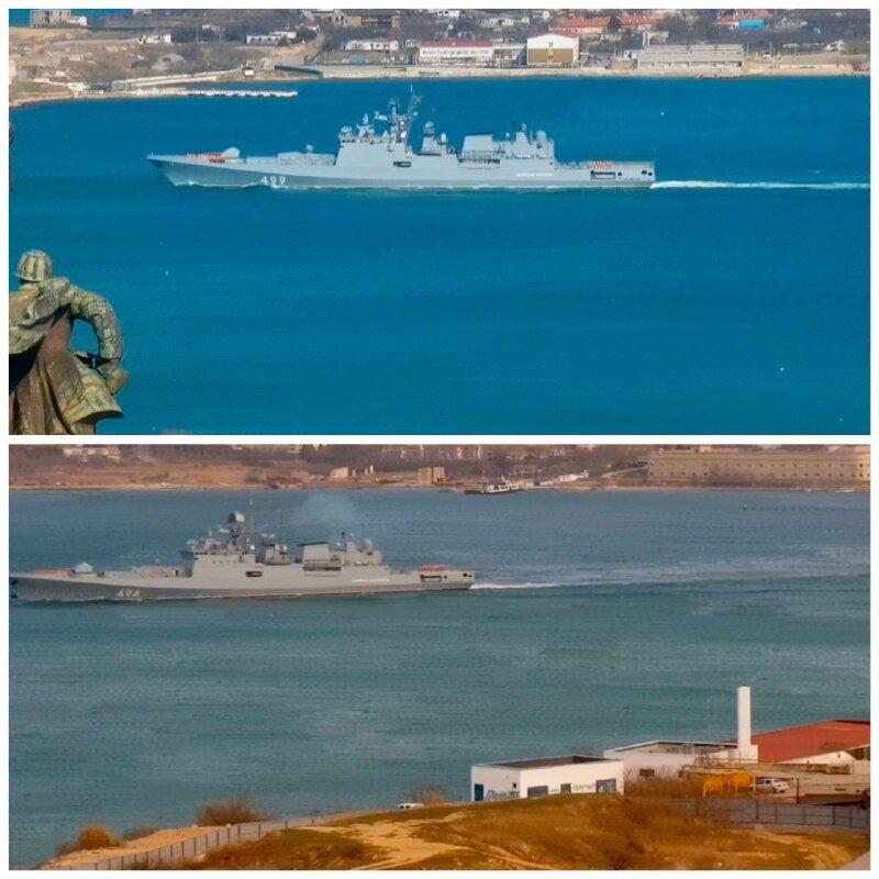 Росія направила кораблі до Сирії