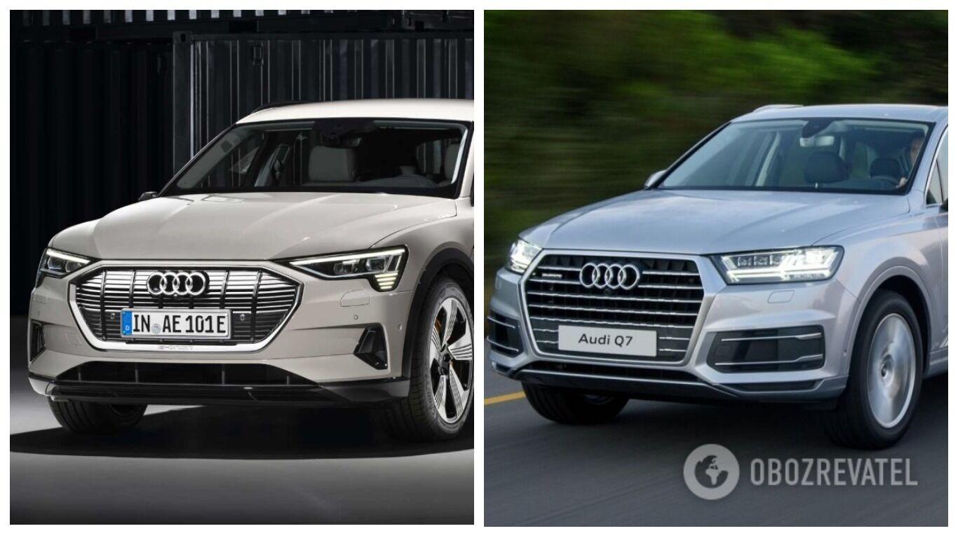 Audi e-tron проти дизельної Audi Q7