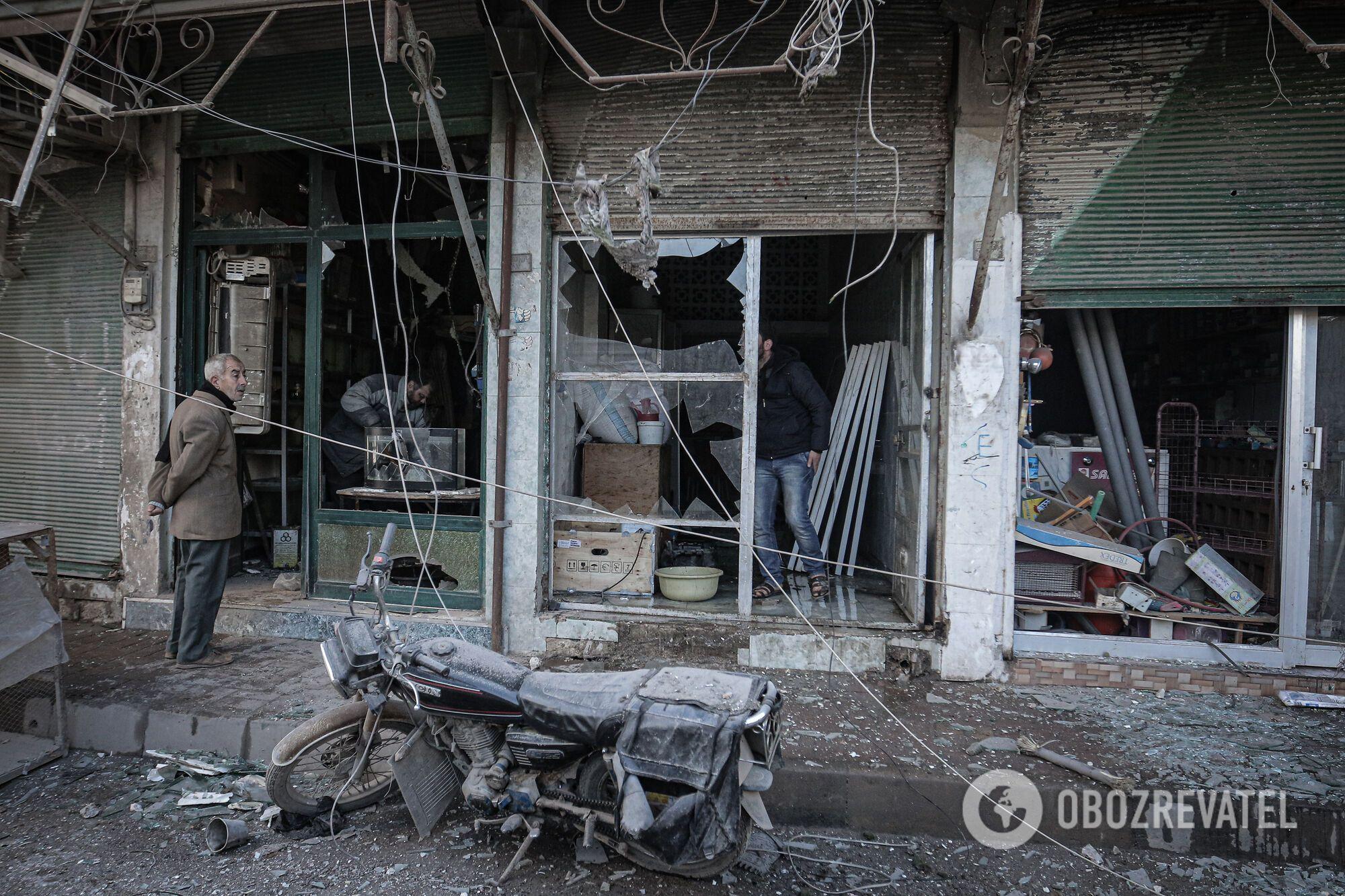 Атака сирийских войск на Идлиб