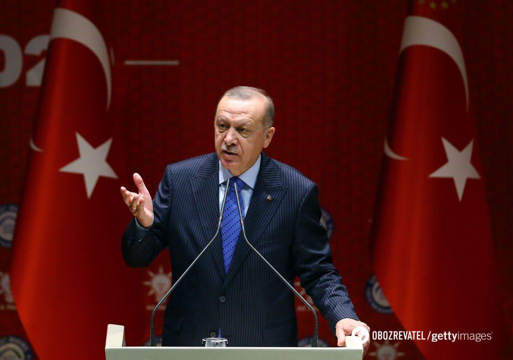 Президент Турции Реджеп Тайип Эрдоган пообещал жесткий ответ Сирии
