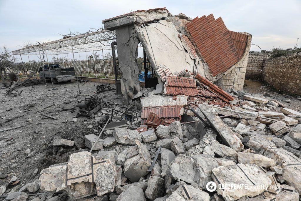 В результате атаки сирийских войск в Идлибе убиты 11 мирных граждан, среди них 5 детей
