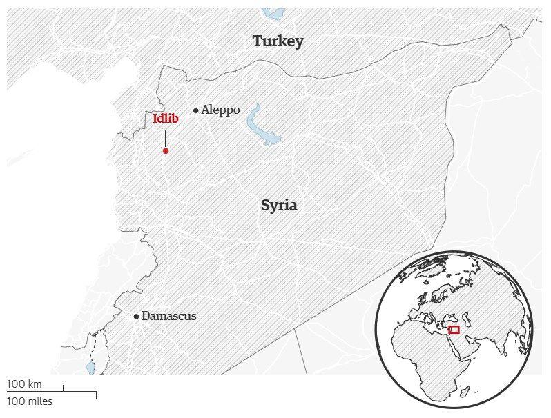 Сирия атаковала Турцию в Идлибе