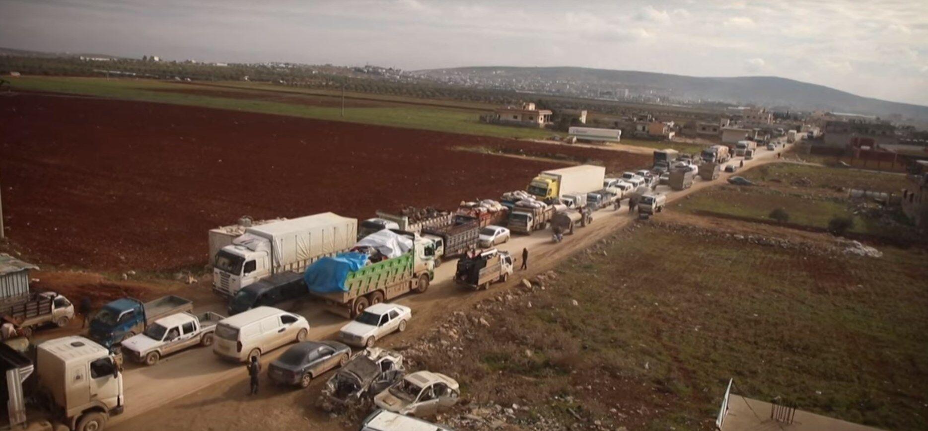 Конфлікт в Сирії (кадр з відео)