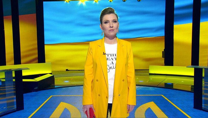 Российская пропагандистка Ольга Скабеева