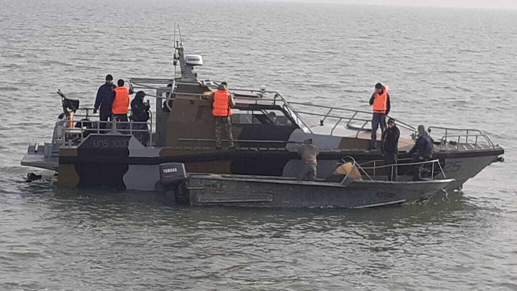 Задержанные Россией рыбаки вернулись в Украину