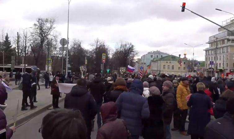 Марш пам'яті Нємцова в Москві