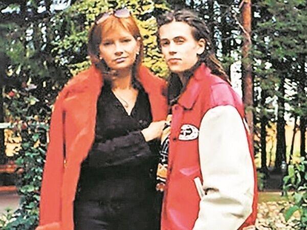 Децл и его мама Ирина Толмацкая