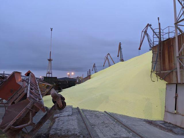 На Одещині трапилася небезпечна НП на сірчаному терміналі