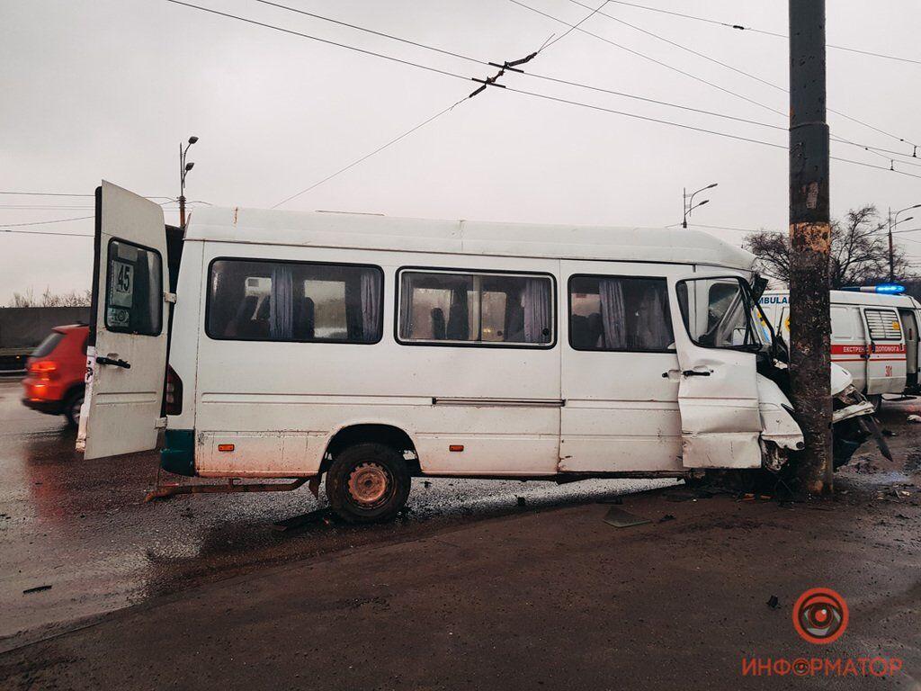 ДТП з маршруткою у Дніпрі