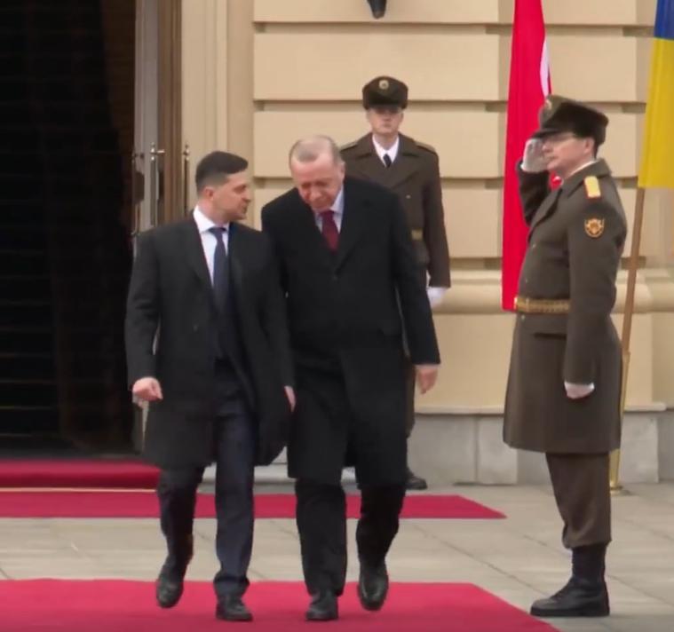 Зустріч Ердогана і Зеленського