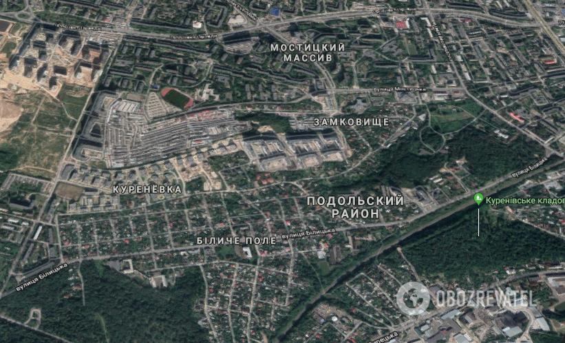 Случай произошел в Подольском районе Киева
