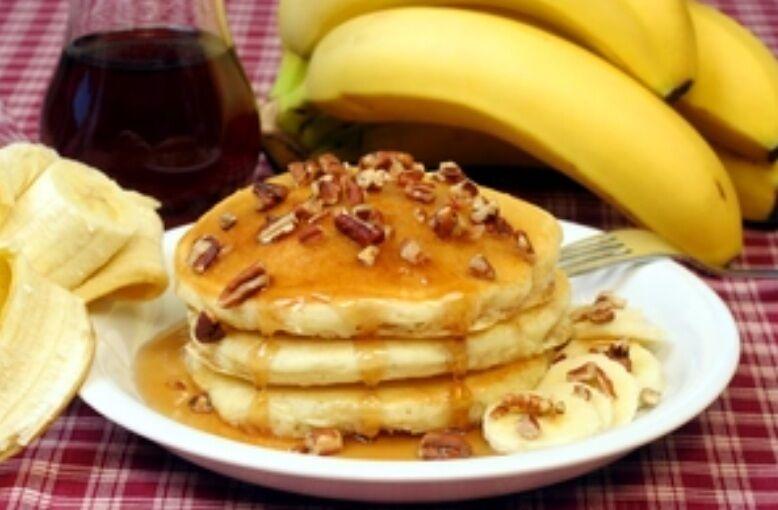 Рецепт казково смачних оладок з бананами