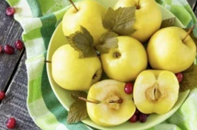 Рецепт незрівнянних мочених яблук