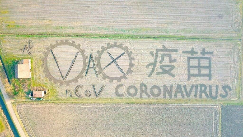 Італійський художник присвятив роботу коронавірус