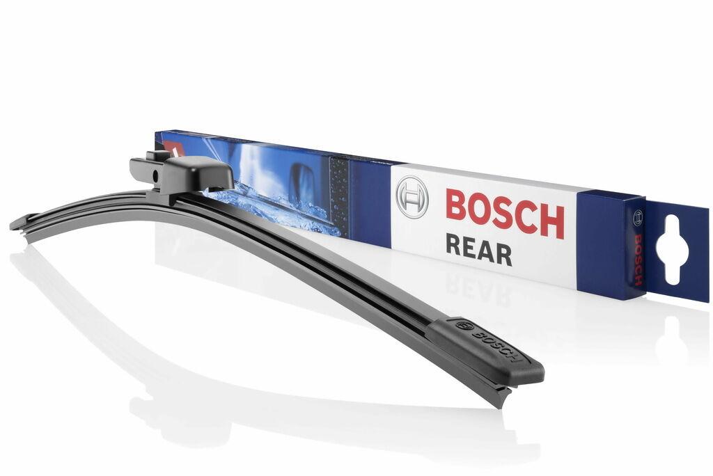 Bosch выпускает более 70 наименований щеток стеклоочистителя специально для заднего стекла