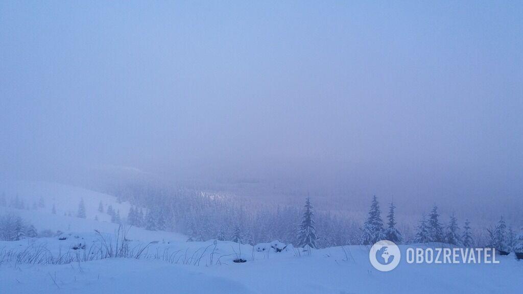Прикарпатье завалило 1,2 м снега